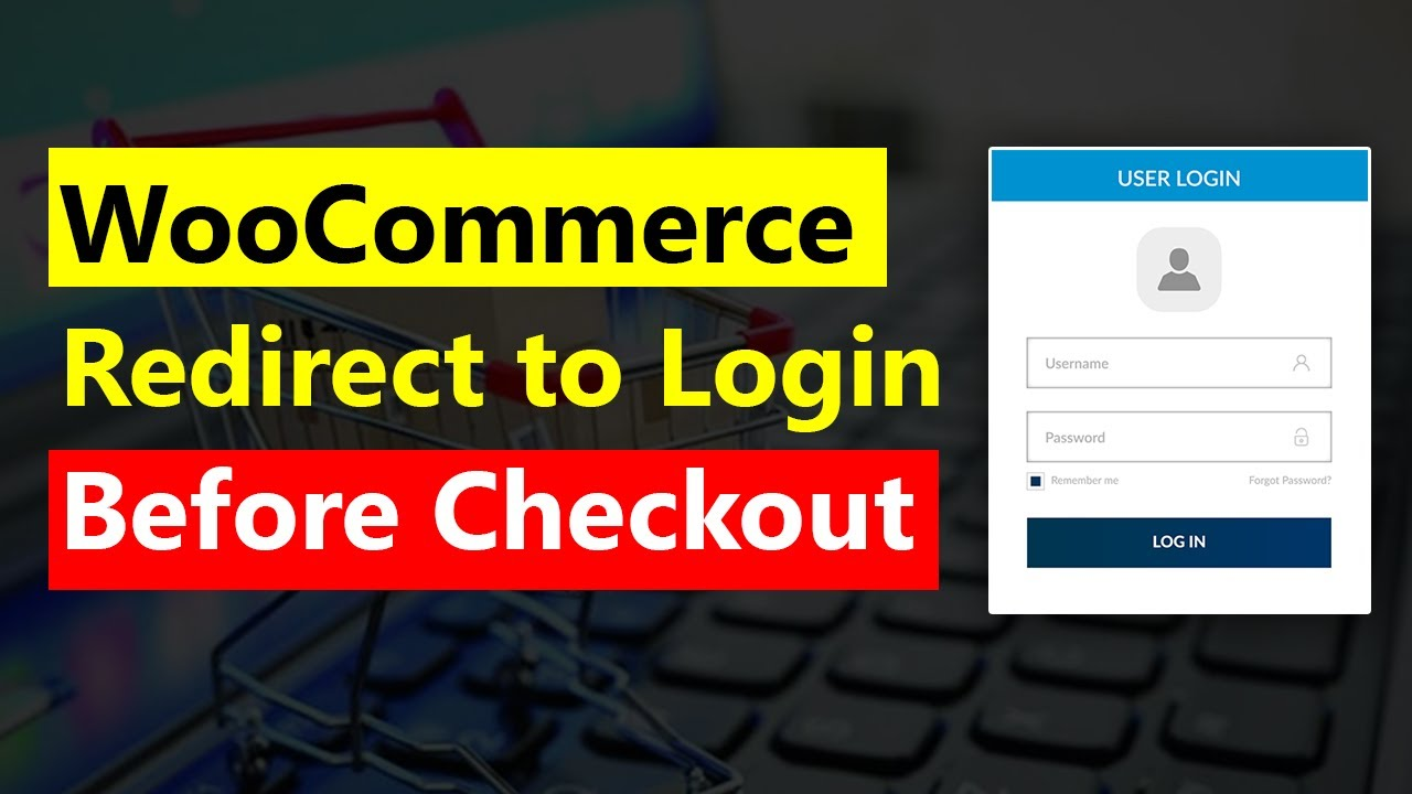 WooCommerce check and redirect to login before checkout WooCommerce require registration to buy