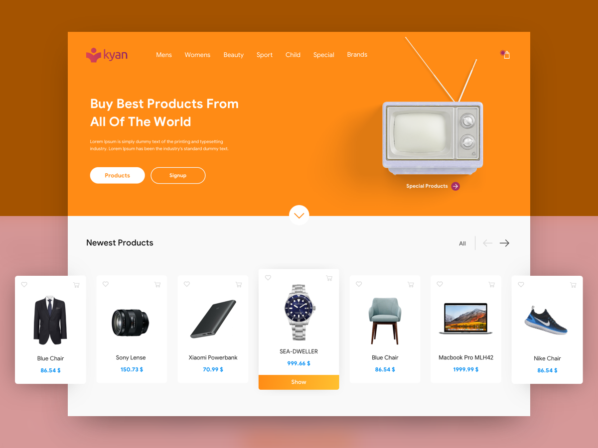 Stay on the product page