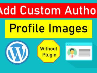 add-author-image-in-WordPress
