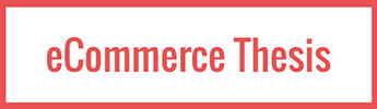 eCommerce Thesis