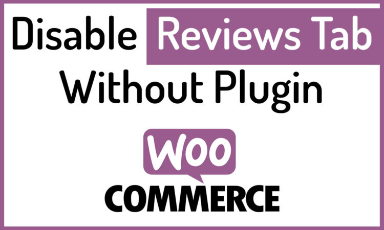 Disable WooCommerce
